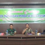 Undang Tokoh Masyarakat,  Pol PP  Sosialisasikan Peraturan Daerah