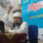 Tabligh Akbar di Payakumbuh, Pesan Babe, Generasi Muda Jangan Tinggalkan Mesjid