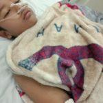 Anak Yatim Pengidap DBD, Asal Sungai Beringin Butuh Uluran Tangan Dermawan