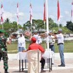 13 Sekolah di Kota Payakumbuh Ikuti Lomba Pelaksanaan Upacara Bendera