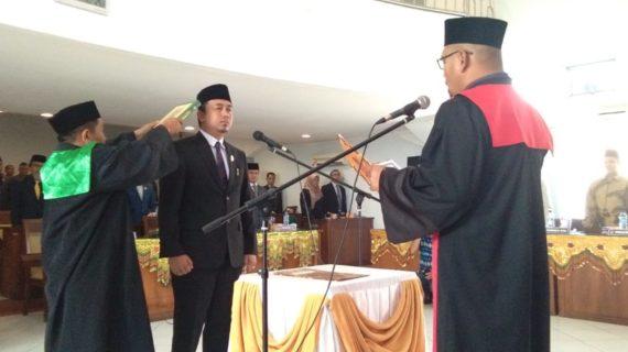 Deni  Asra  Resmi  Menjadi Ketua  DPRD Kabupaten  Lima Puluh Kota Masa Jabatan  2019-2024