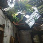 Angin Kencang Disertai Hujan Melanda Payakumbuh,Sejumlah Rumah Warga Rusak Berat
