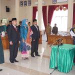 Hadiri Pengukuhan Pimpinan DPRD Defenitif,Wako Payakumbuh Berharap DPRD Segra Membahas 4 Peraturan Daerah