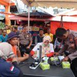 Giat Bhakti Kesehatan, Polres Payakumbuh Adakan Pengobatan dan Cek Kesehatan Gratis