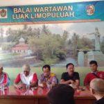 Goro Bersama,Wabub 50 Kota dan Polres Payakumbuh Silaturrahim ke Balai Wartawan