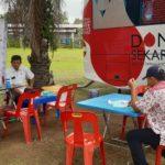 Jelang Baralek Gadang dan Hari Sumpah Pemuda, IMAMI Lakukan Donor Darah