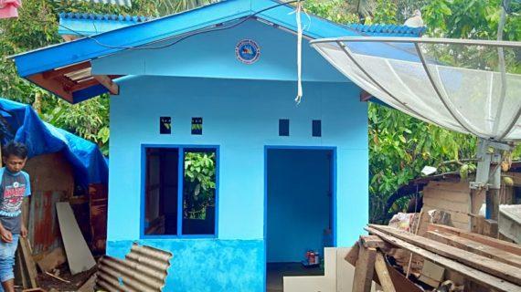 SPI Bedah Rumah,Rosma Segra Diami Rumah Barunya