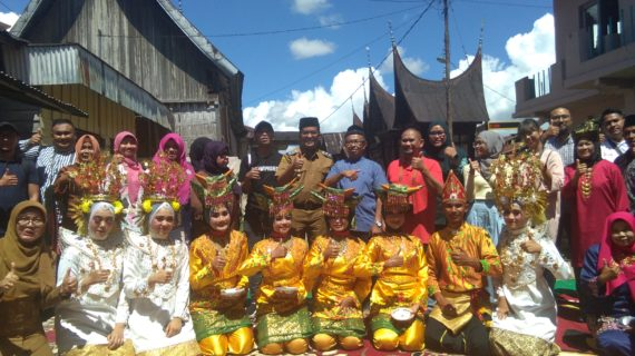 Perkampungan Minang Balai Kaliki Dikunjungi Tamu Dari Brunai