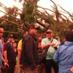 Korban Angin Puting Beliung,Pemko Akan Bantu Meringankan Beban Masyarakat