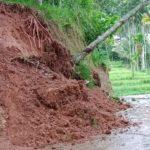 Longsor,Dua Nagari di Kecamatan Akabiluru Terkena Dampak Huja Deras