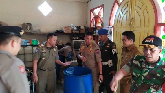 Bongkar Gudang Tuak, Tim 7 Payakumbuh Selematkan 750 Generasi Muda dari Minuman Terlarang