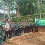 Dandim 0306  Limapuluhkota, Mulai Pembangunan Rumah Warga Korban Bencana Longsor di Koto Alam